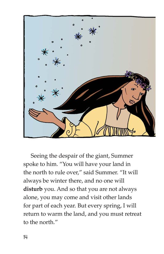 Book Preview For How Glooskap Found Summer Page 14