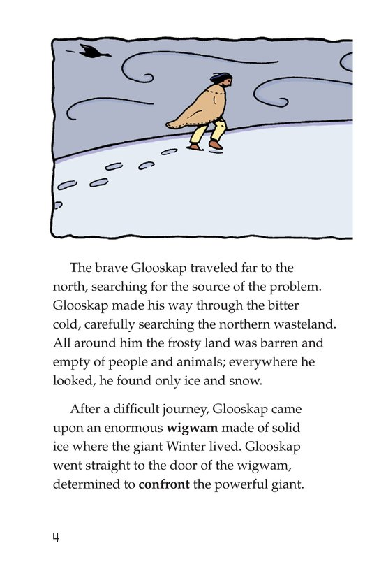 Book Preview For How Glooskap Found Summer Page 4