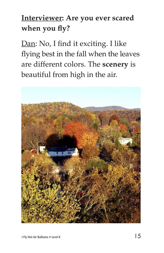 Book Preview For I Fly Hot-Air Balloons Page 15