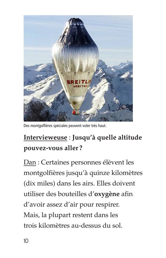 Book Preview For I Fly Hot-Air Balloons Page 10