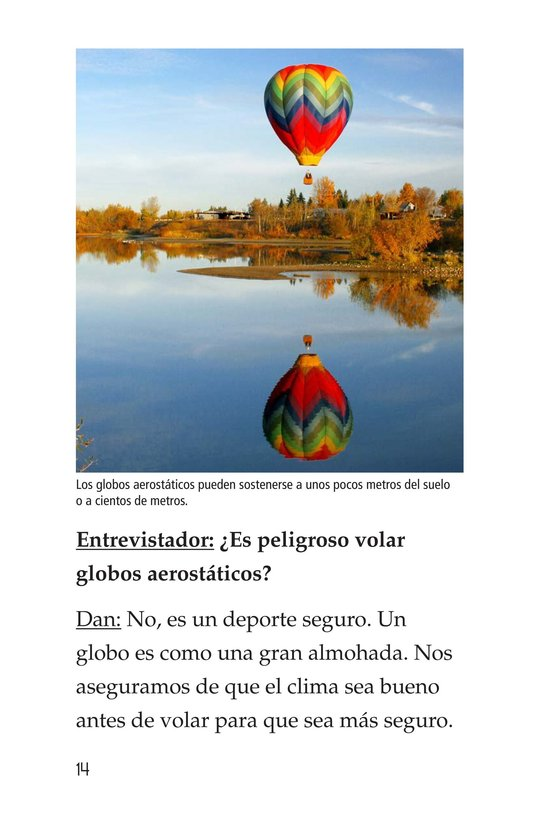 Book Preview For I Fly Hot-Air Balloons Page 14