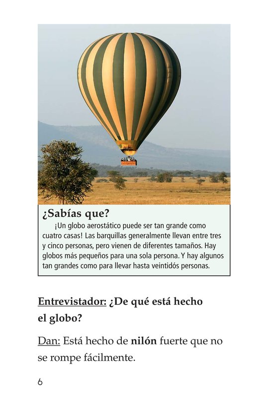 Book Preview For I Fly Hot-Air Balloons Page 6
