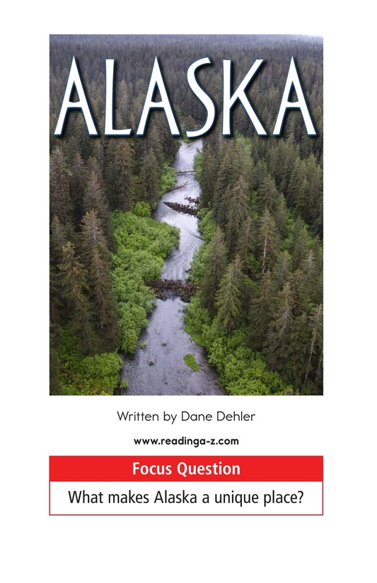Book Preview For Alaska: The Last Frontier Page 1
