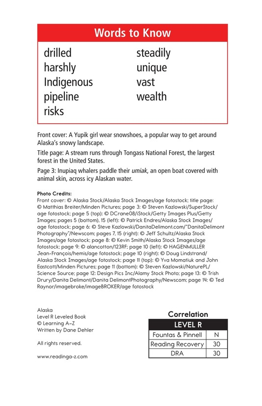 Book Preview For Alaska: The Last Frontier Page 2