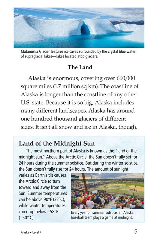 Book Preview For Alaska: The Last Frontier Page 5