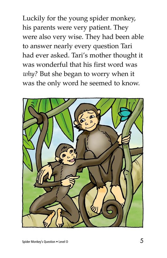 Book Preview For Spider Monkey's Question Page 5