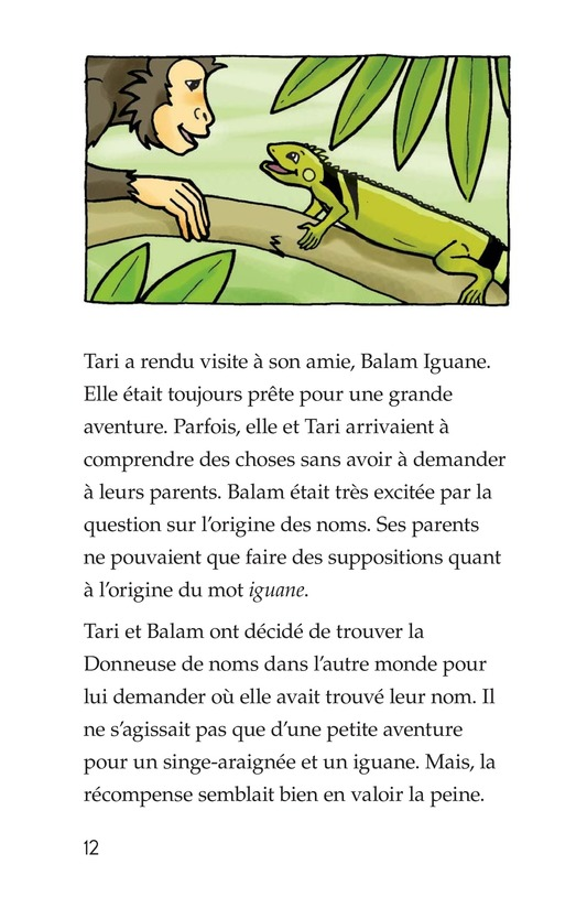 Book Preview For Spider Monkey's Question Page 12