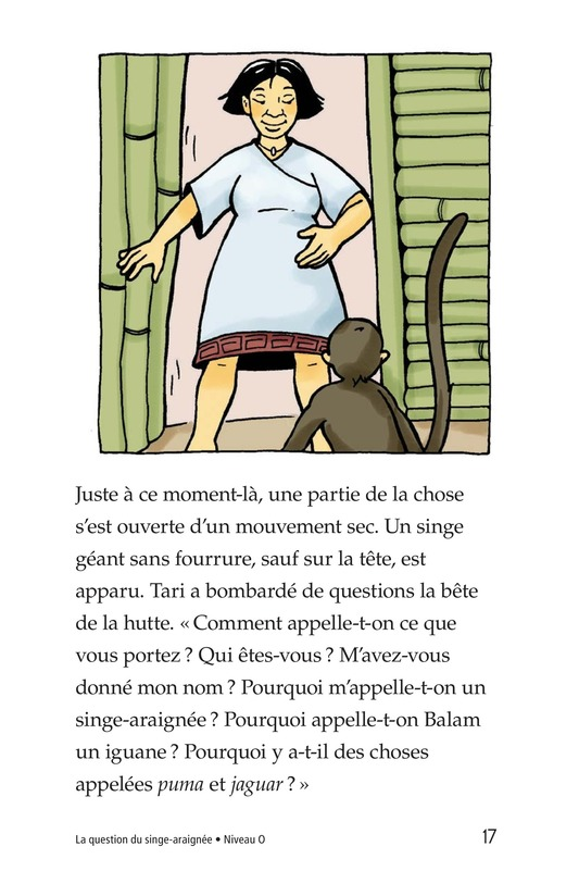 Book Preview For Spider Monkey's Question Page 17