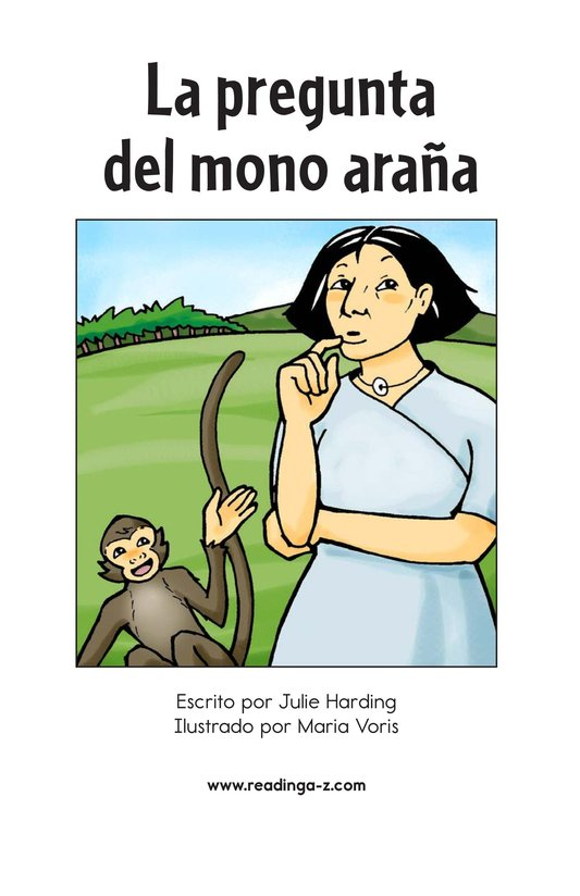 Book Preview For Spider Monkey's Question Page 2