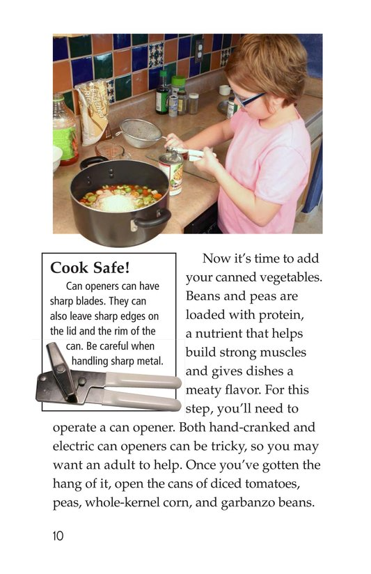 Book Preview For Let's Make Vegetable Soup Page 10
