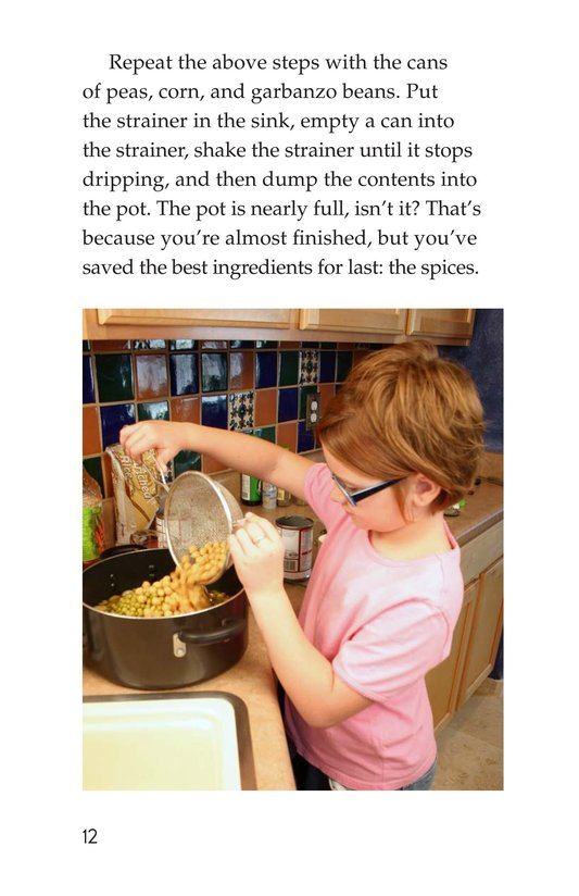 Book Preview For Let's Make Vegetable Soup Page 12