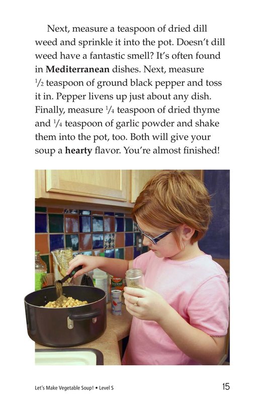 Book Preview For Let's Make Vegetable Soup Page 15