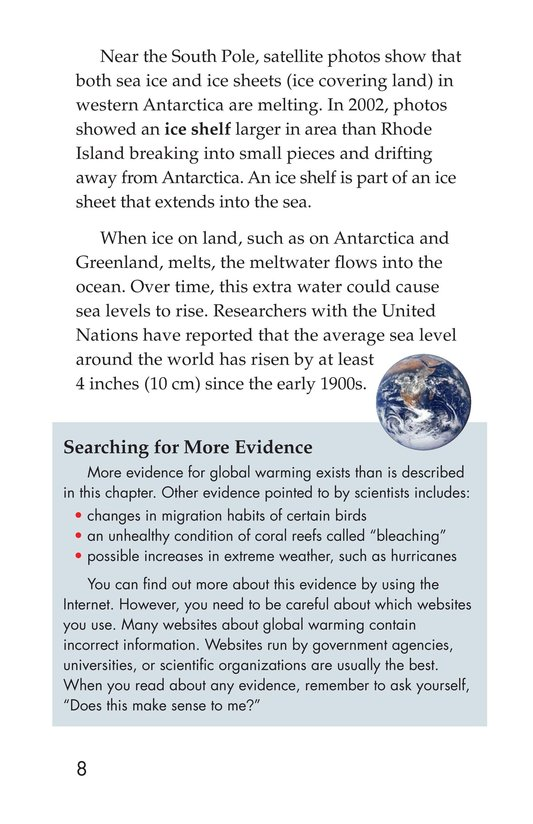 Book Preview For What Do You Think About Climate Change? Page 8