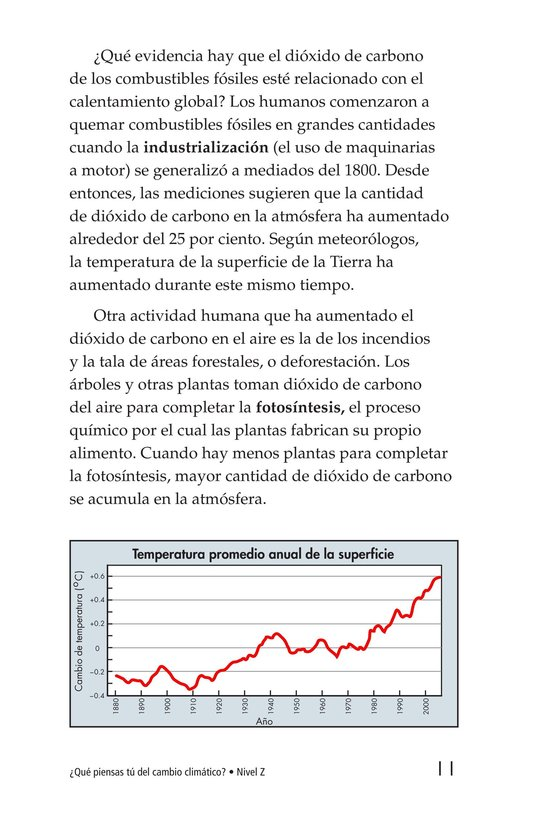 Book Preview For What Do You Think About Climate Change? Page 11