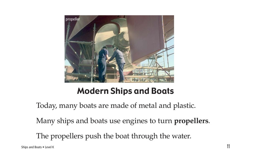 Book Preview For Ships and Boats Page 11