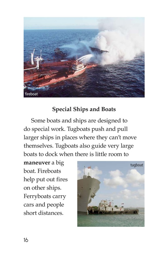 Book Preview For Ships and Boats Page 16