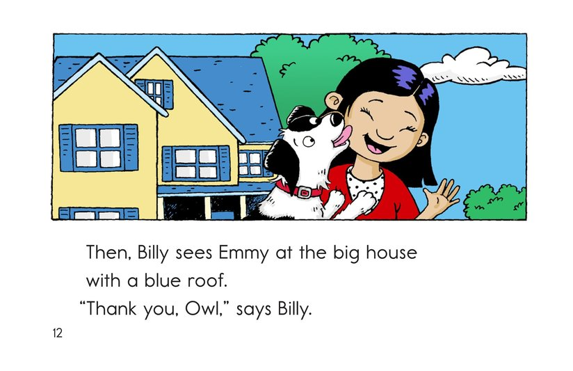 Book Preview For Billy Gets Lost Page 12