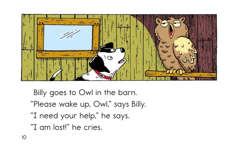 Book Preview For Billy Gets Lost Page 10