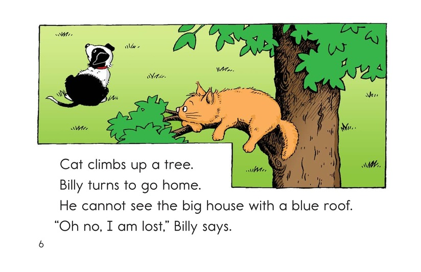 Book Preview For Billy Gets Lost Page 6