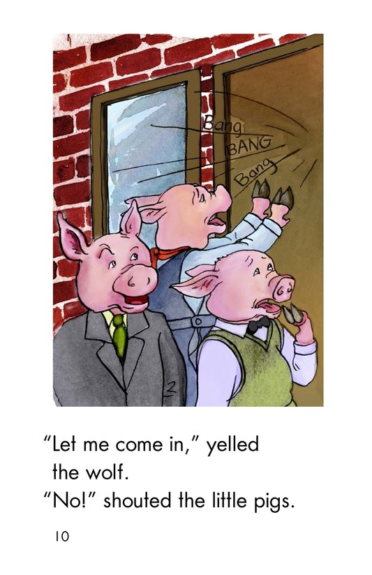 Book Preview For The Three Little Pigs Page 10