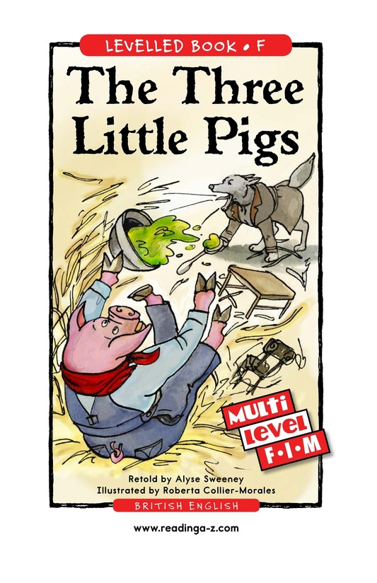 Book Preview For The Three Little Pigs Page 1