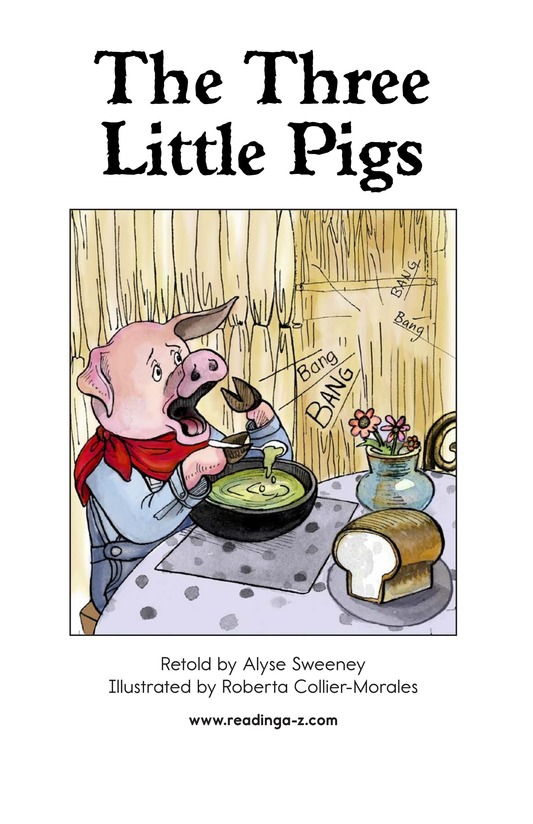 Book Preview For The Three Little Pigs Page 2