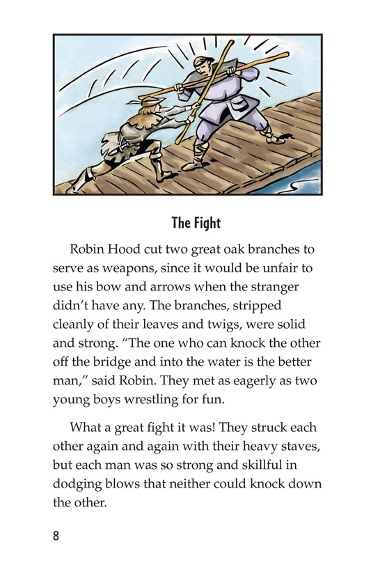 Book Preview For How Little John Joined Robin Hood Page 8