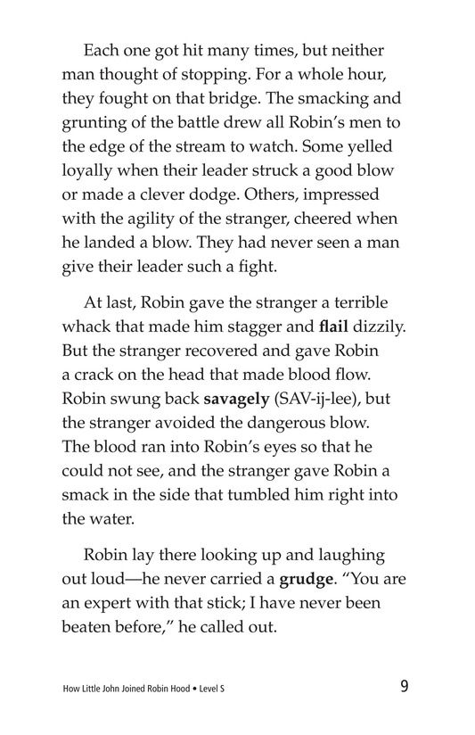 Book Preview For How Little John Joined Robin Hood Page 9