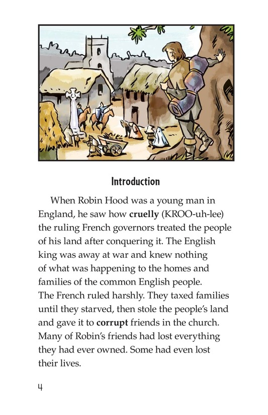 Book Preview For How Little John Joined Robin Hood Page 4