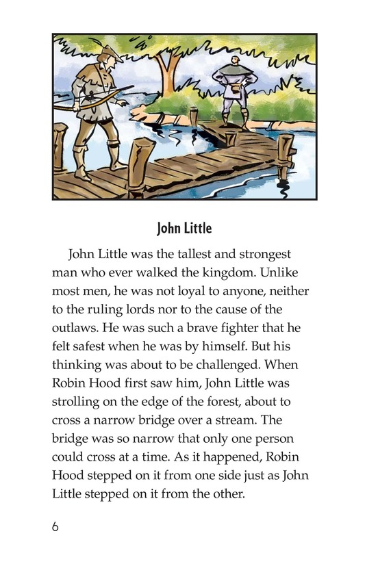 Book Preview For How Little John Joined Robin Hood Page 6