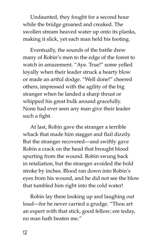 Book Preview For How Little John Joined Robin Hood Page 12