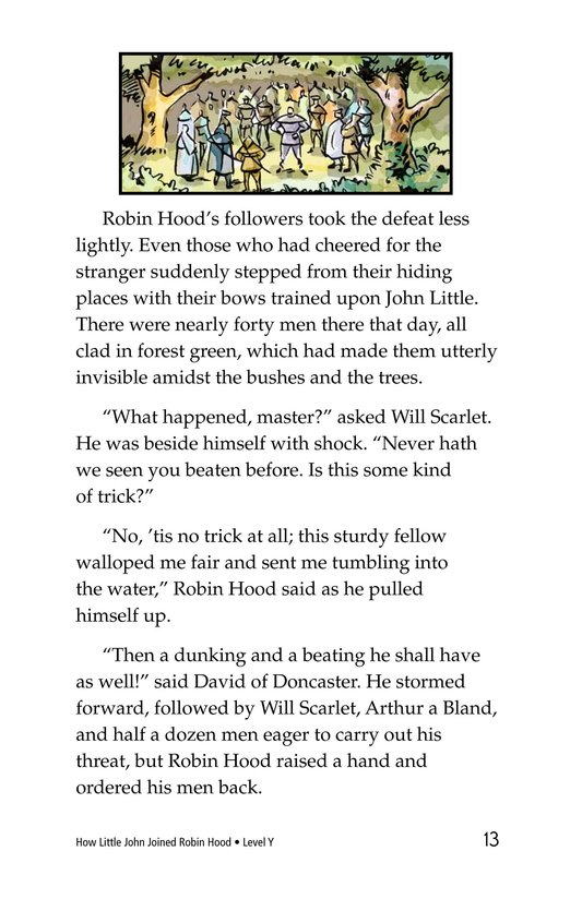 Book Preview For How Little John Joined Robin Hood Page 13