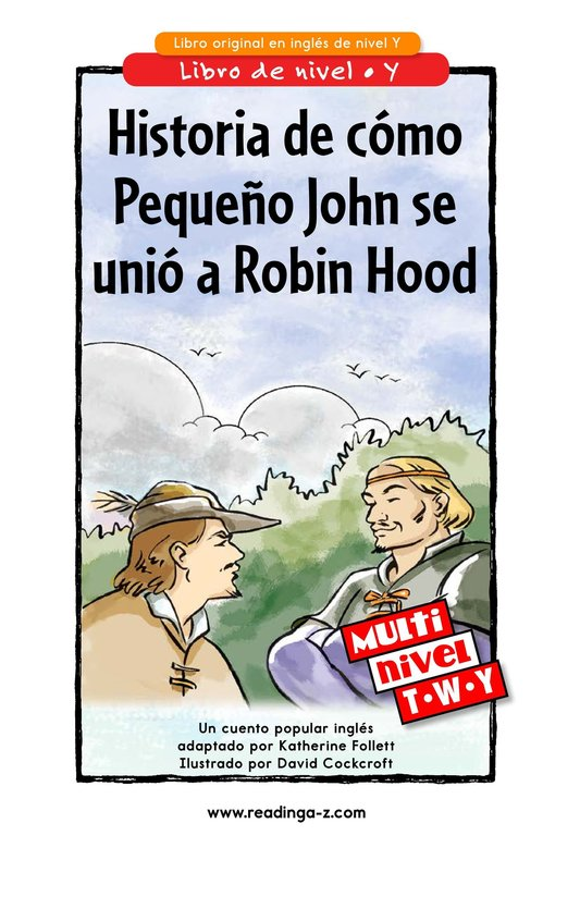 Book Preview For How Little John Joined Robin Hood Page 1