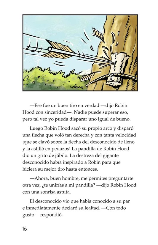 Book Preview For How Little John Joined Robin Hood Page 16