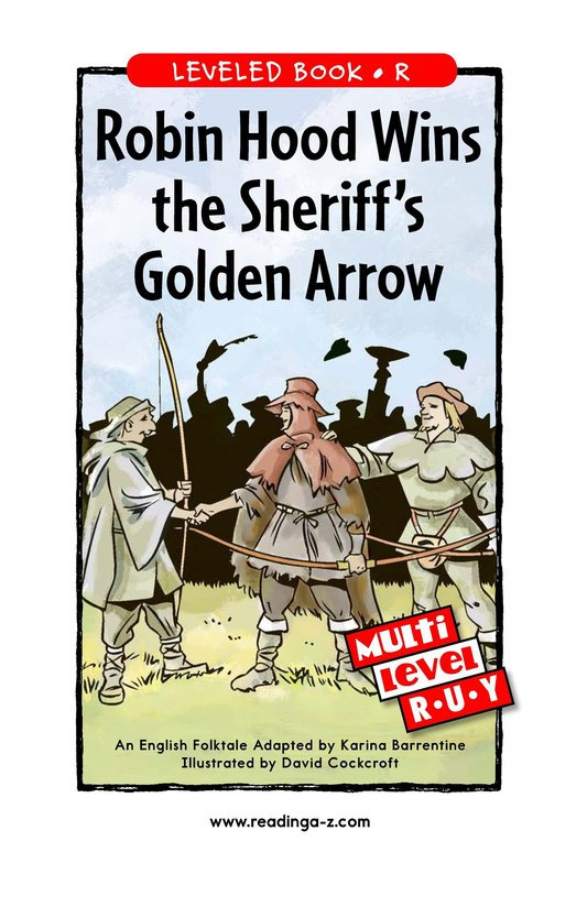 Book Preview For Robin Hood Wins the Sheriff's Golden Arrow Page 1