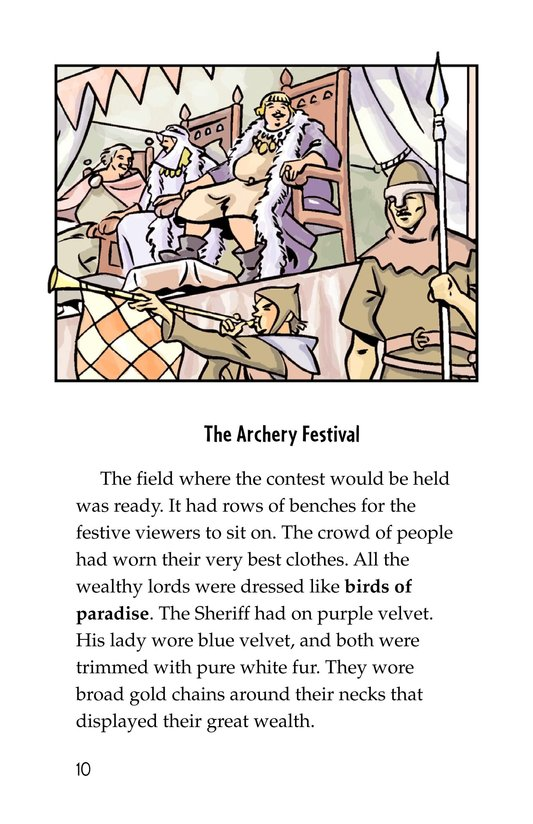 Book Preview For Robin Hood Wins the Sheriff's Golden Arrow Page 10