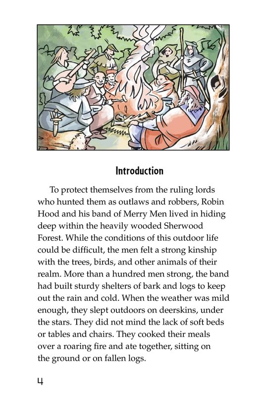 Book Preview For Robin Hood Wins the Sheriff's Golden Arrow Page 4