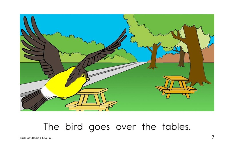 Book Preview For Bird Goes Home Page 7
