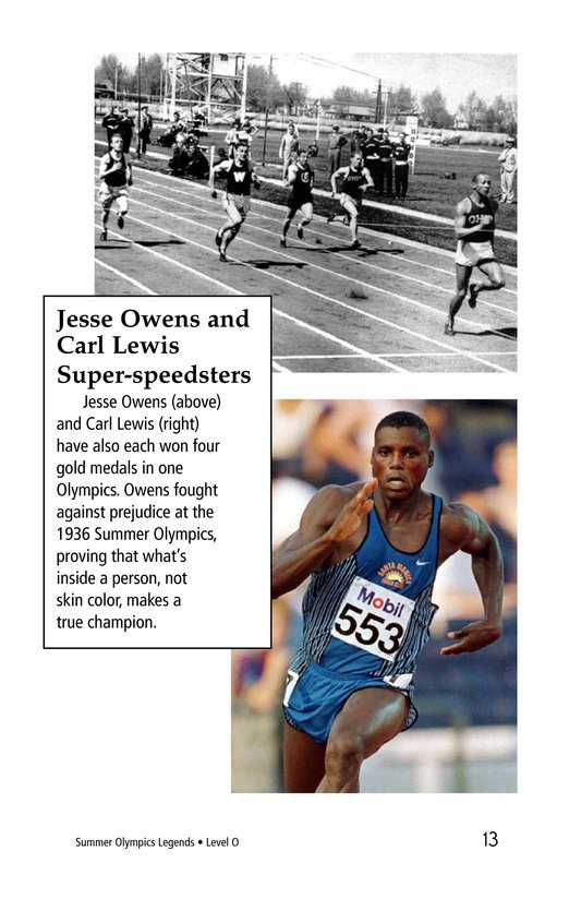 Book Preview For Summer Olympics Legends Page 13