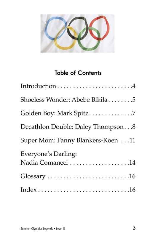 Book Preview For Summer Olympics Legends Page 3