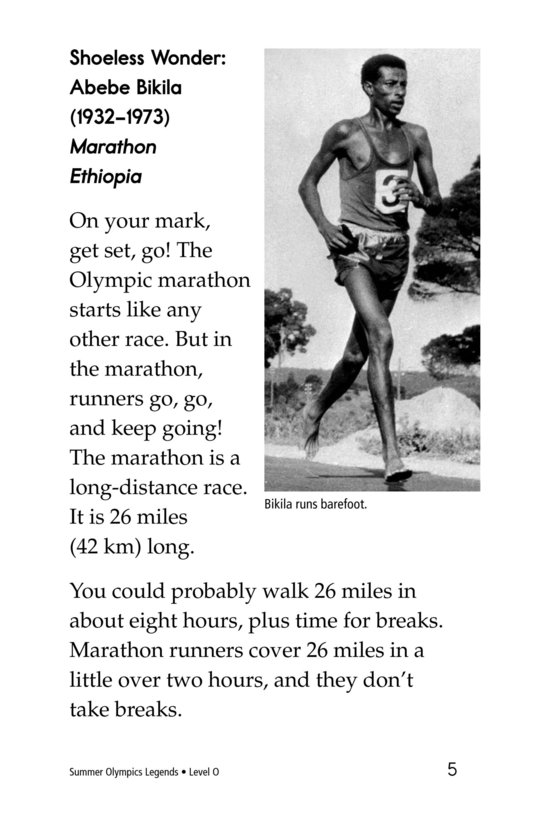 Book Preview For Summer Olympics Legends Page 5