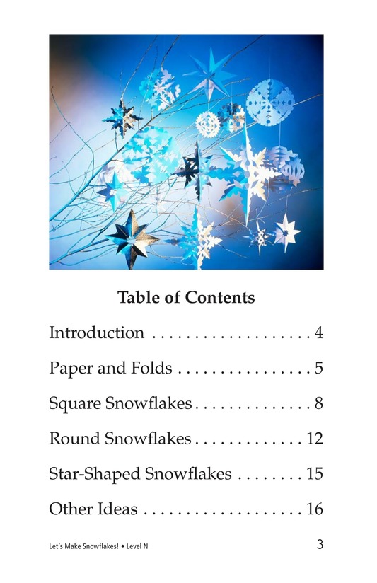 Book Preview For Let's Make Snowflakes! Page 3