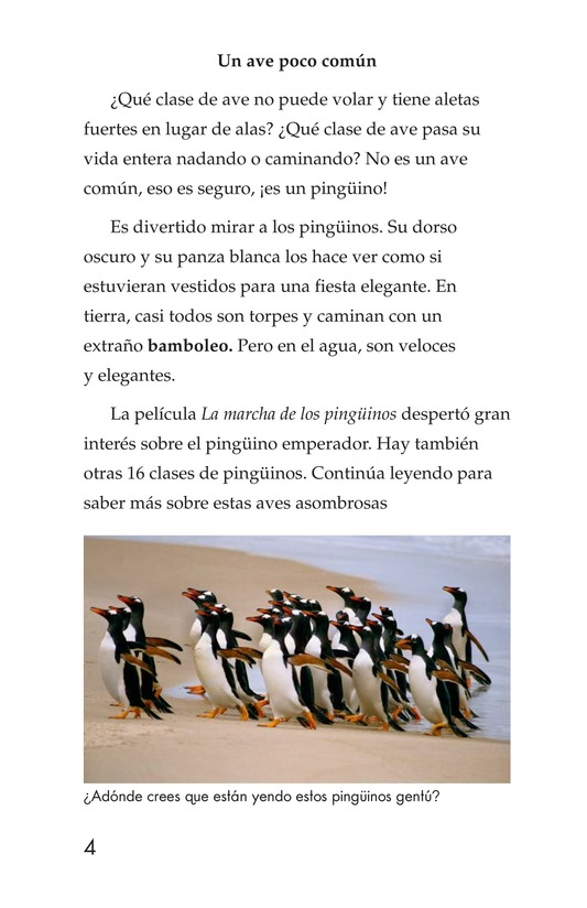 Book Preview For Penguins Page 4
