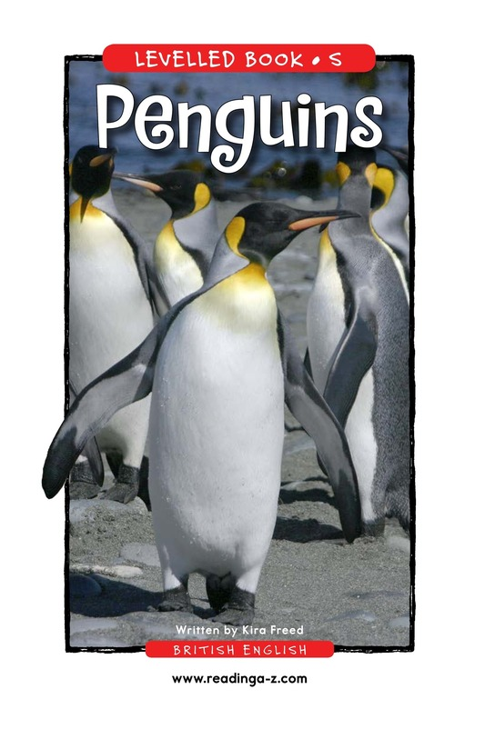 Book Preview For Penguins Page 1