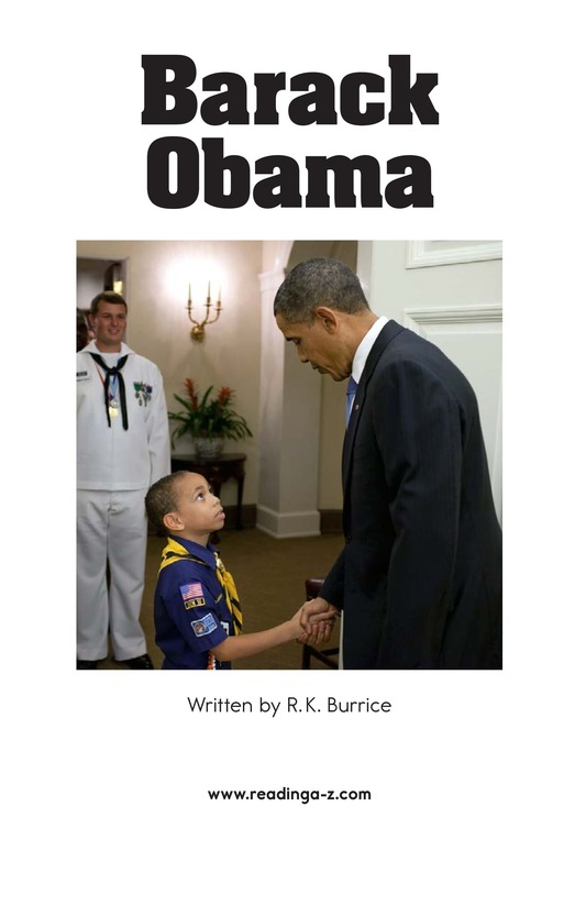 Book Preview For Barack Obama Page 2