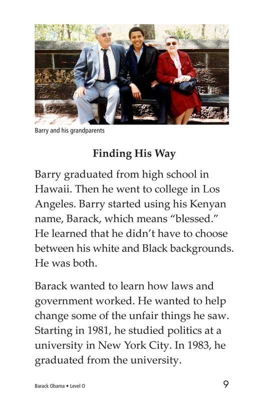 Book Preview For Barack Obama Page 9