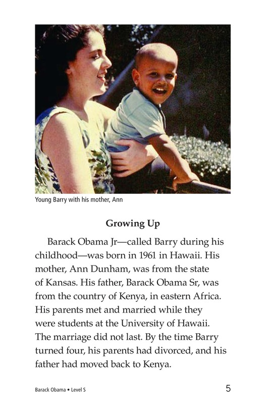 Book Preview For Barack Obama Page 5