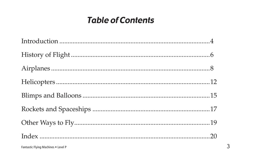 Book Preview For Fantastic Flying Machines Page 3