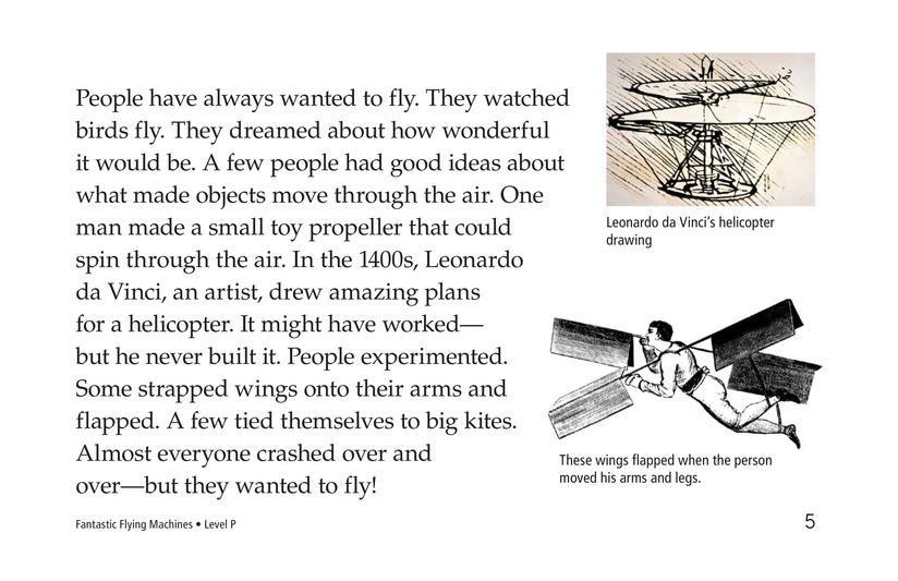 Book Preview For Fantastic Flying Machines Page 5