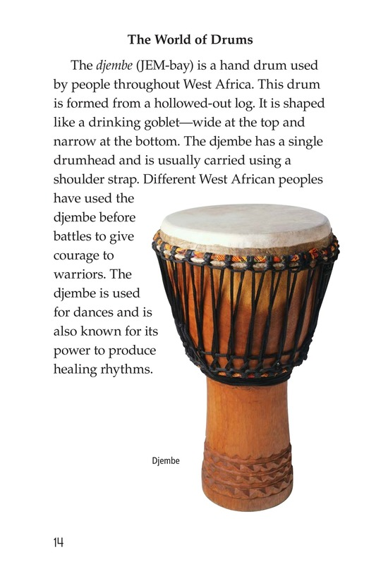 Book Preview For Drums and Drumming Page 14